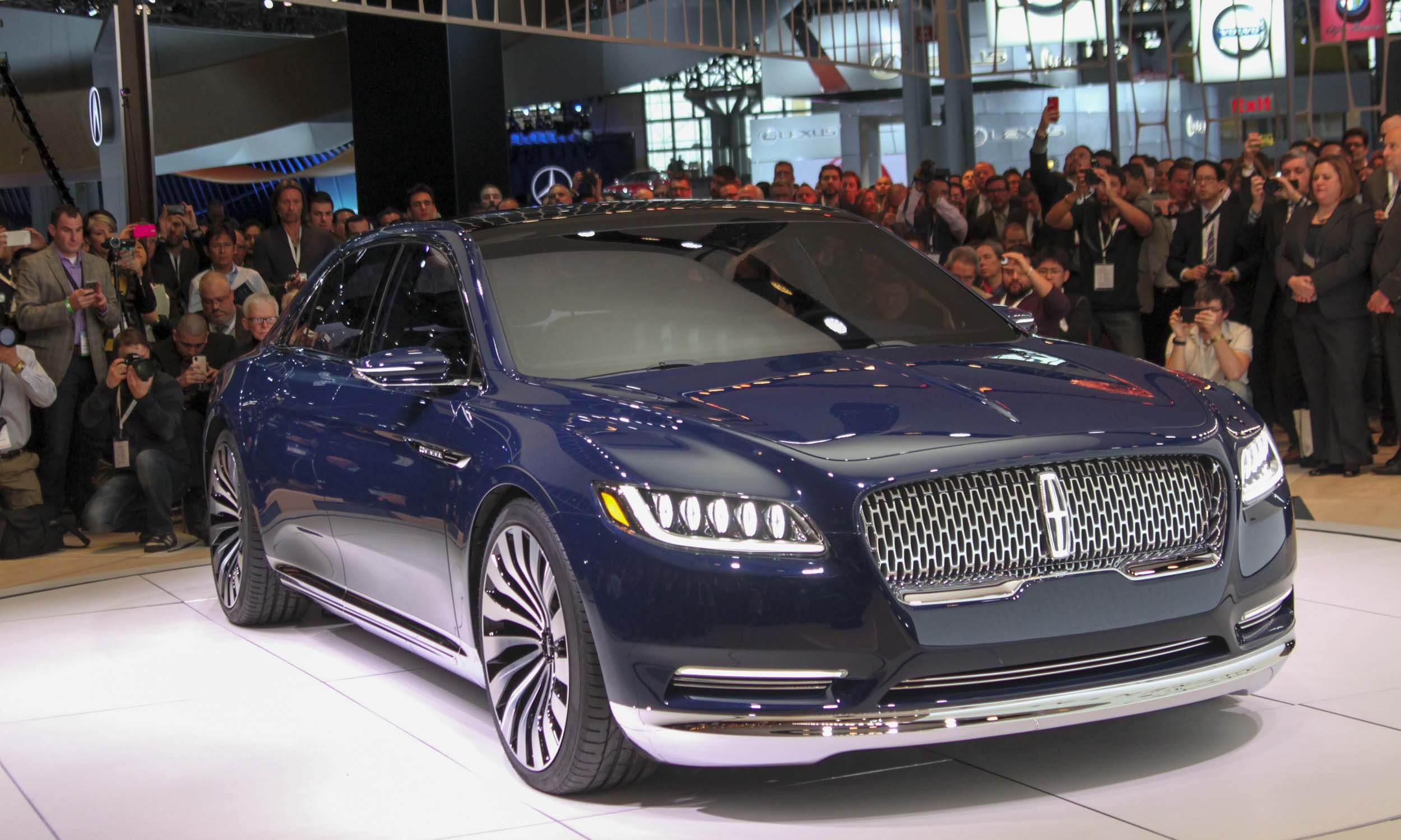 Pictures From The New York Auto Show