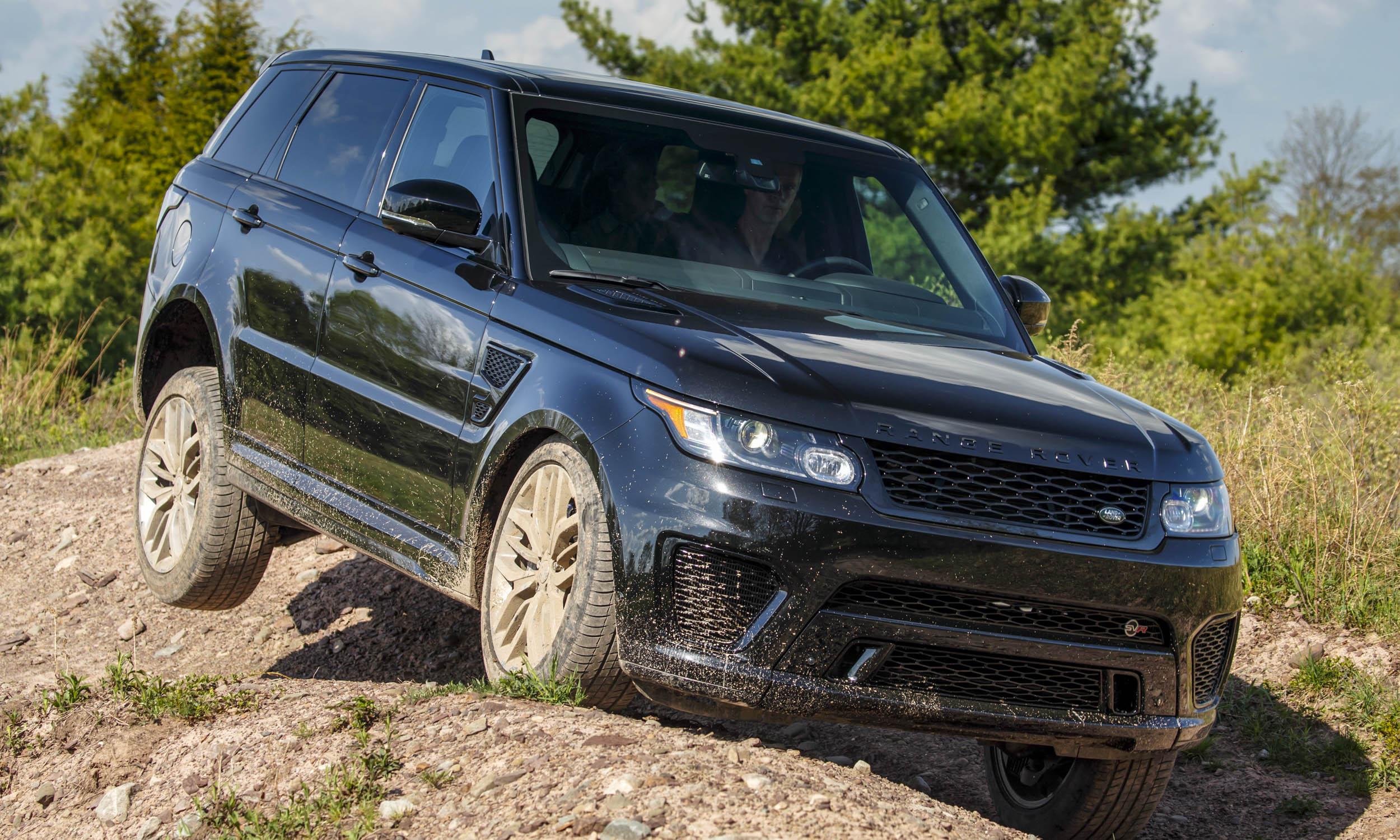 2015 land rover range rover sport svr first drive review. Black Bedroom Furniture Sets. Home Design Ideas
