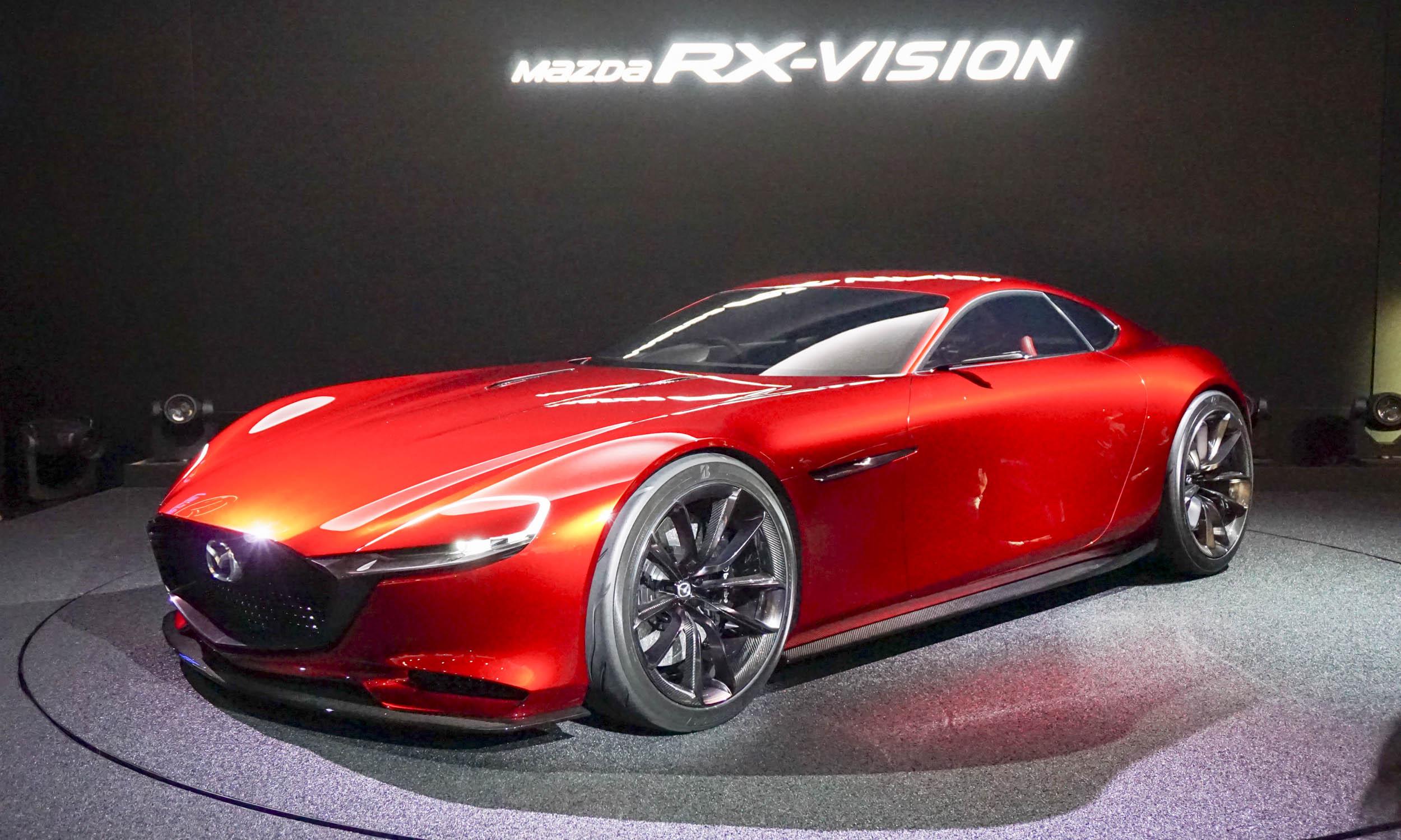 2015 Tokyo Motor Show Mazda Rx Vision