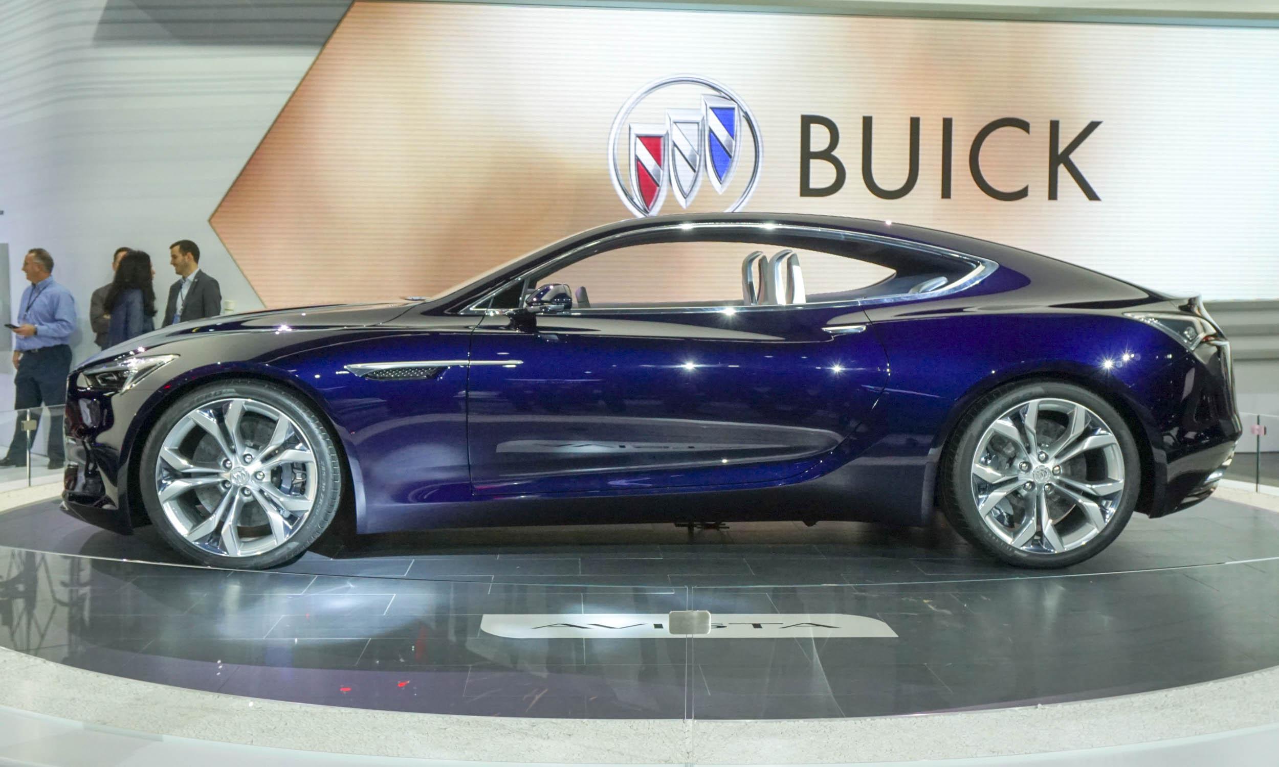 Image 9 Of 48 Buick Avista Concept Debuts In Detroit Gm 1951 Xp 300 Car 2018 Auto Show Highlights Automotive Content