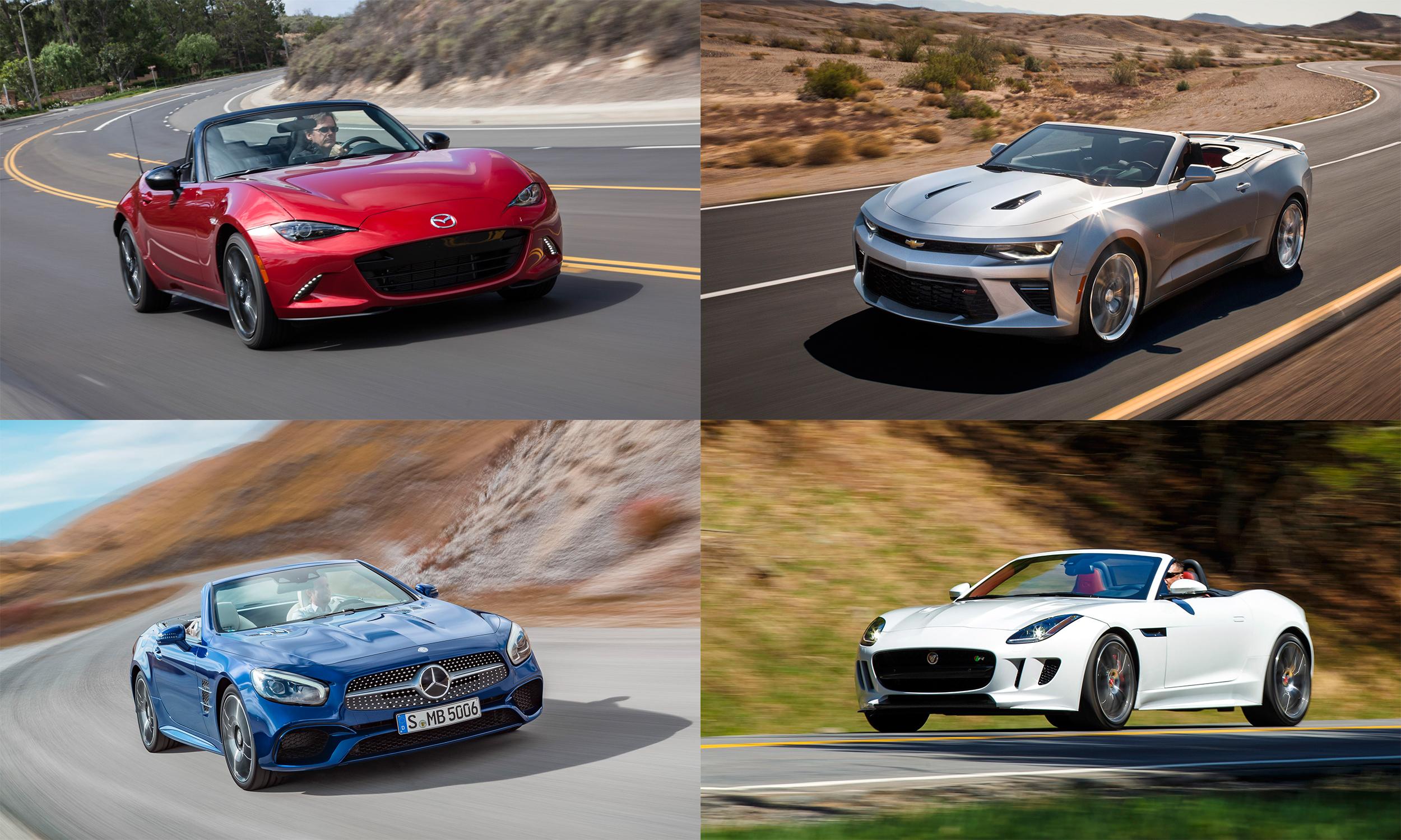 © Mazda North American Operations, General Motors, Jaguar Land Rover North America, Mercedes-Benz USA