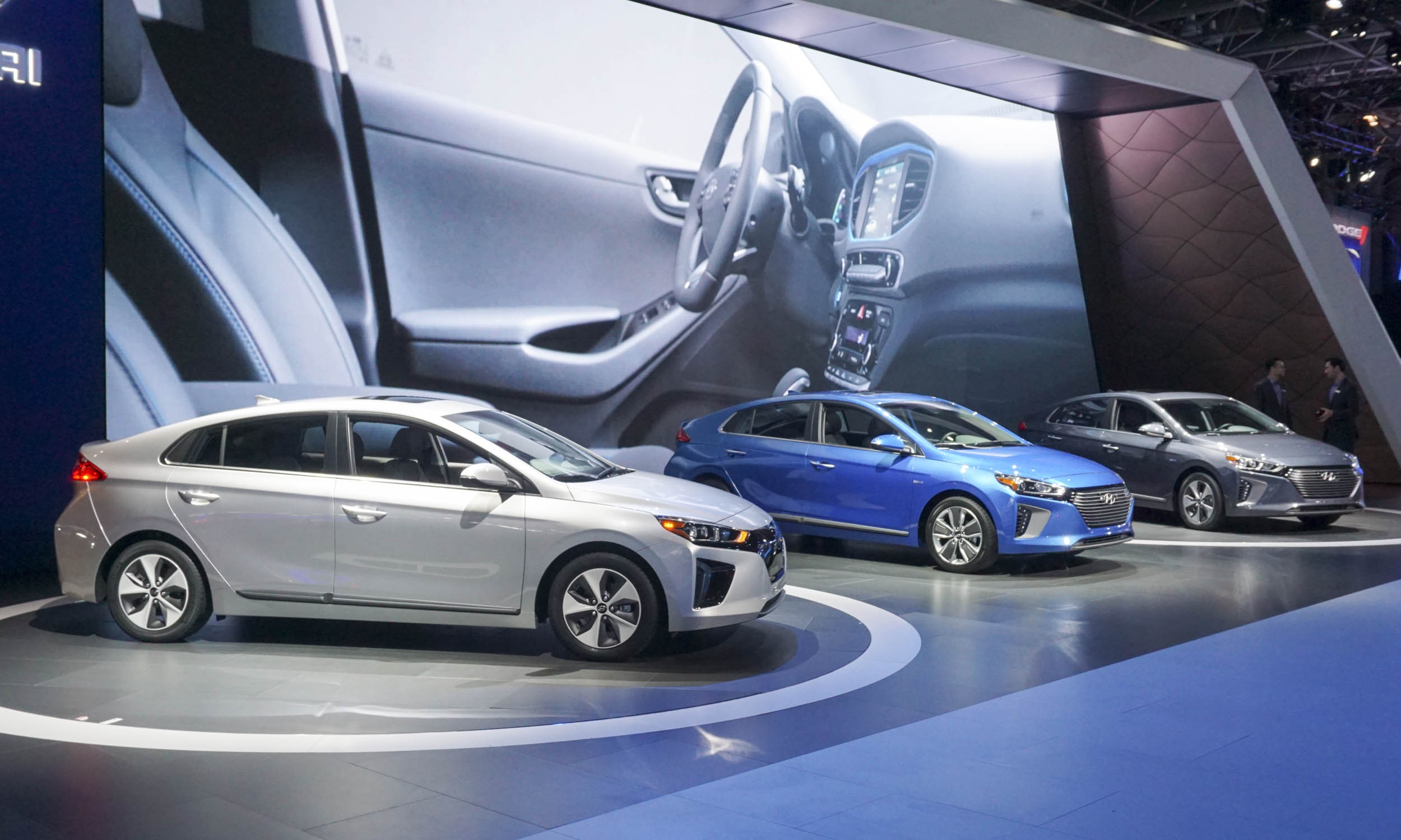 2016 New York Motor Show Hyundai Ioniq First Look Automotive Content Experience