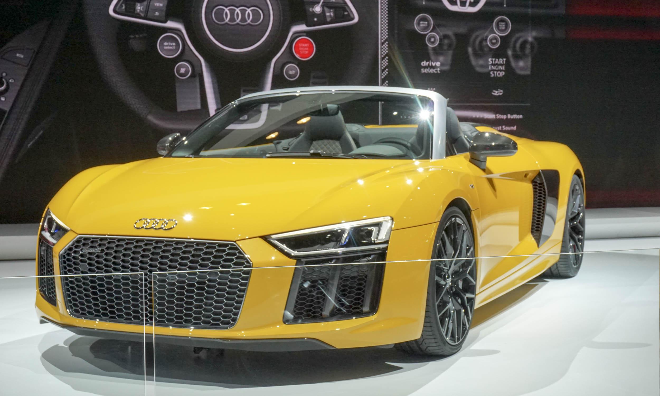 Audi R8 Spyder. 2016 New York Auto Show: Performance U0026 Sports Cars ...