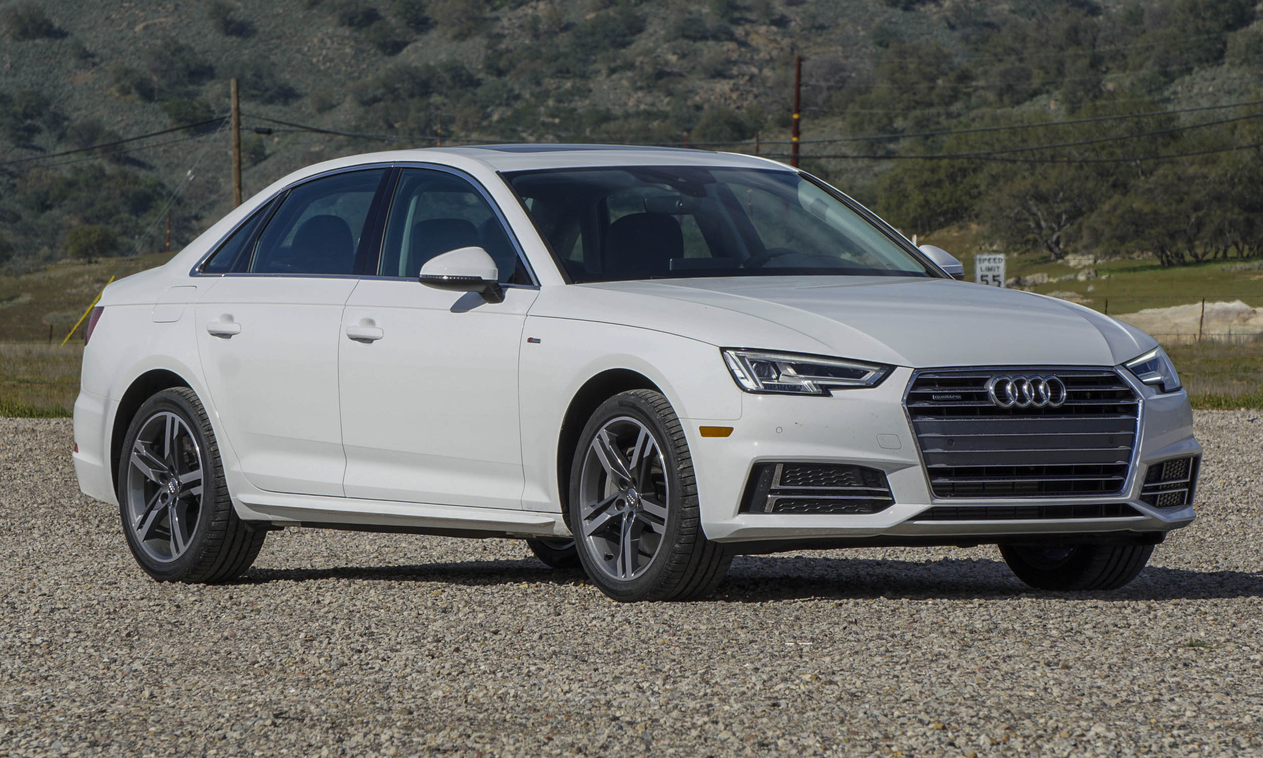 2017 audi a4 first drive review autonxt. Black Bedroom Furniture Sets. Home Design Ideas