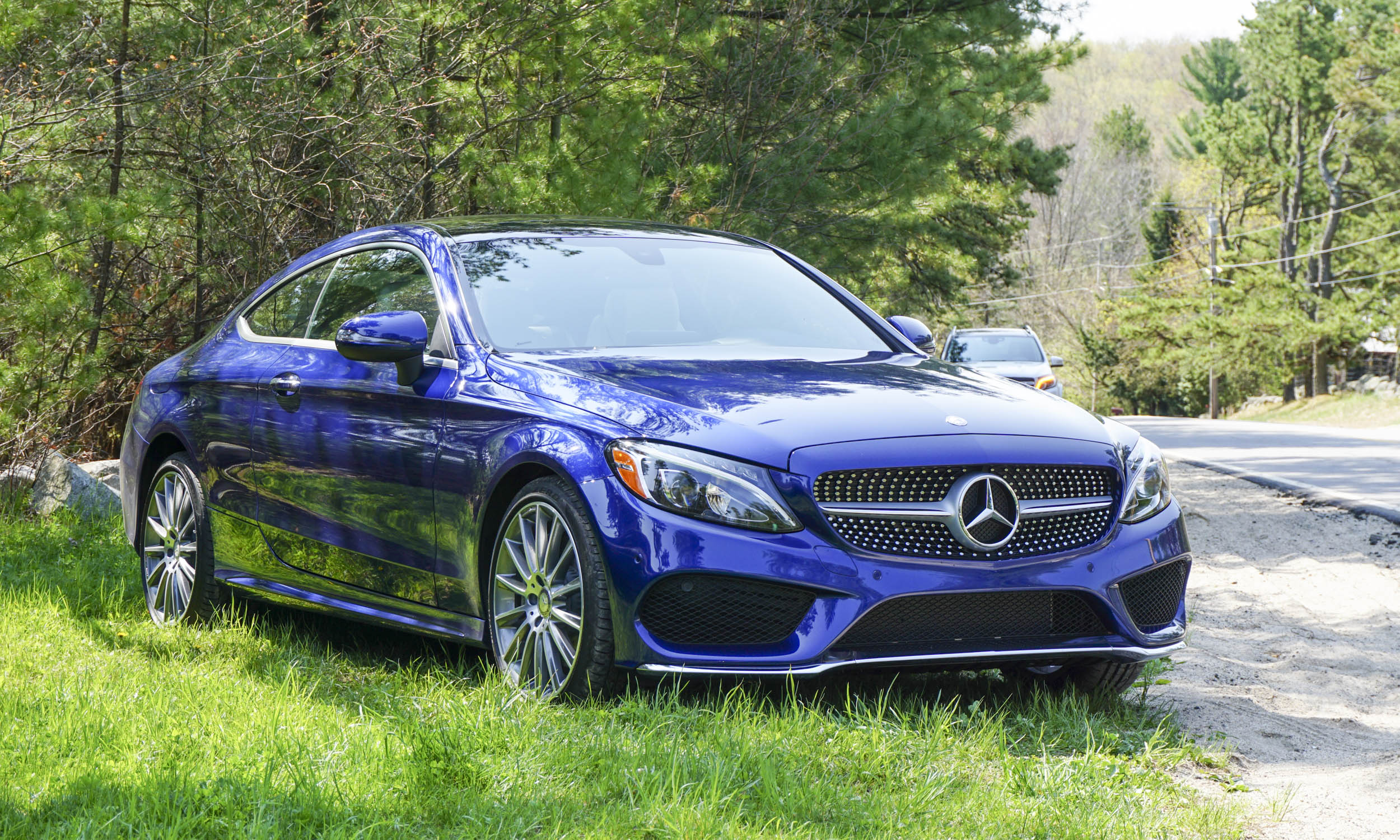 2017 mercedes benz c class coupe first drive review for Mercedes benz c class coupe 2016 price