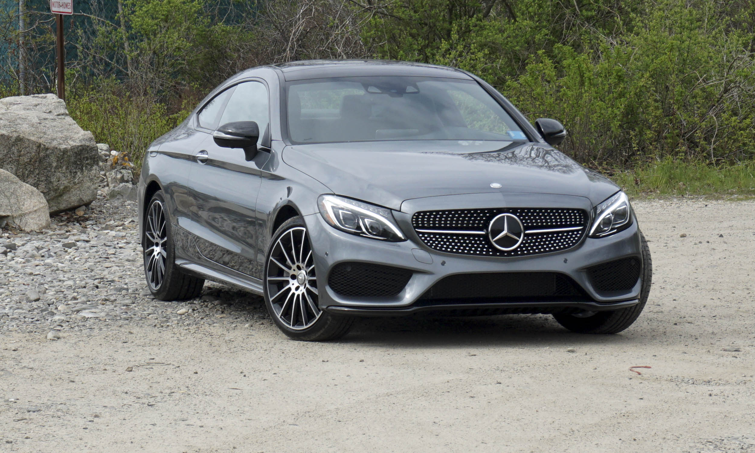 Excellent 2017 MercedesBenz CClass Coupe First Drive Review