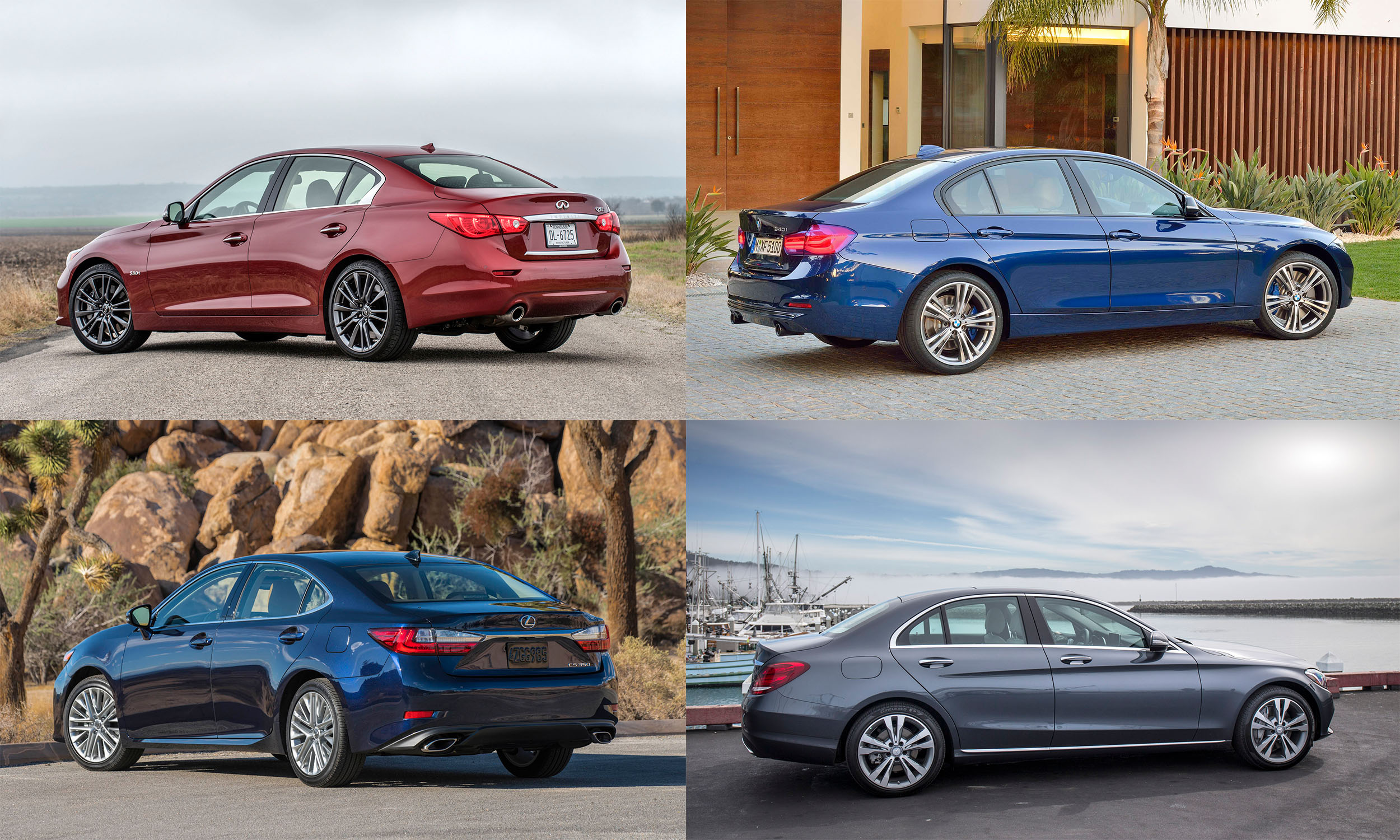 © Infiniti North America, Inc., BMW of North America, Mercedes-Benz USA, Toyota Motor Sales