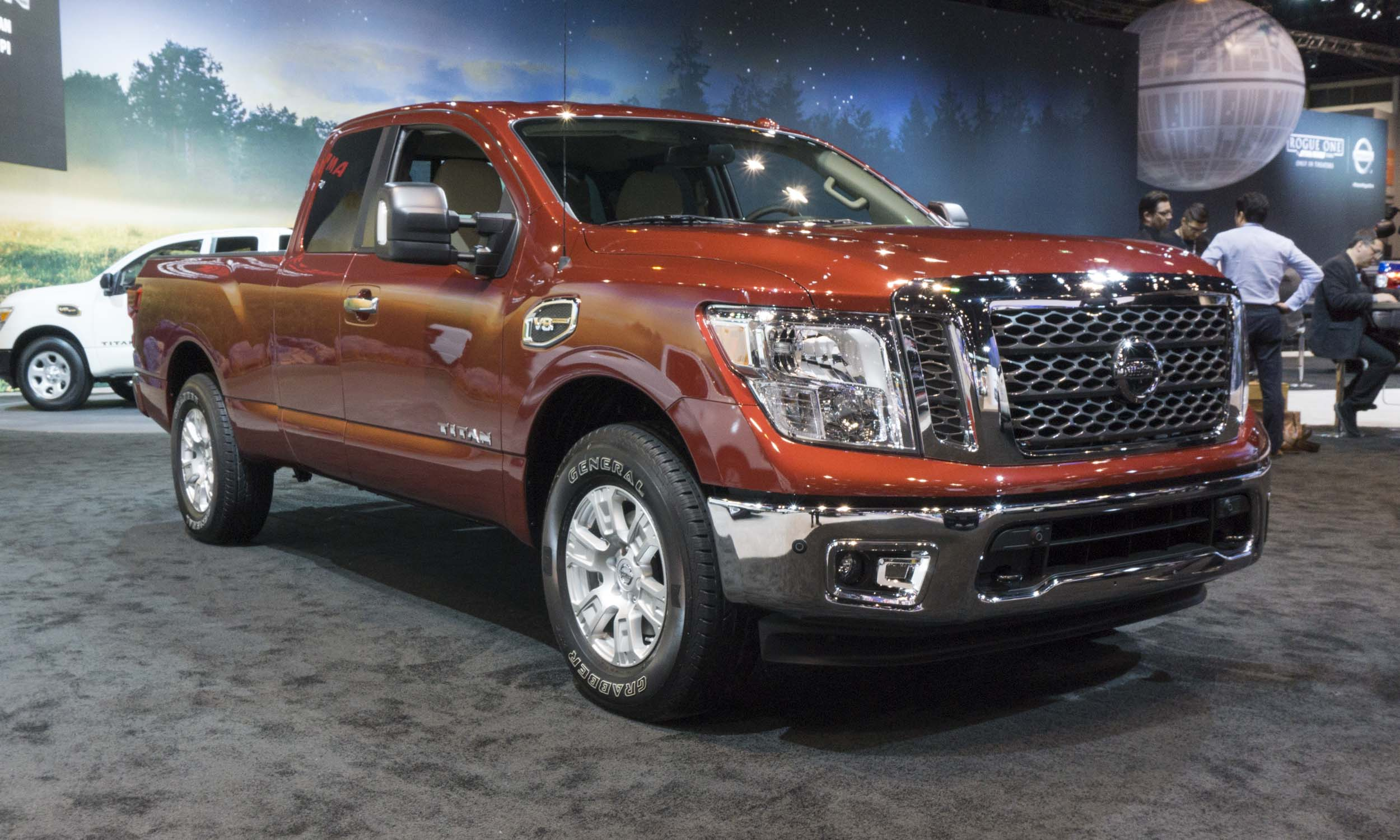 2017 Chicago Auto Show Nissan An King Cab