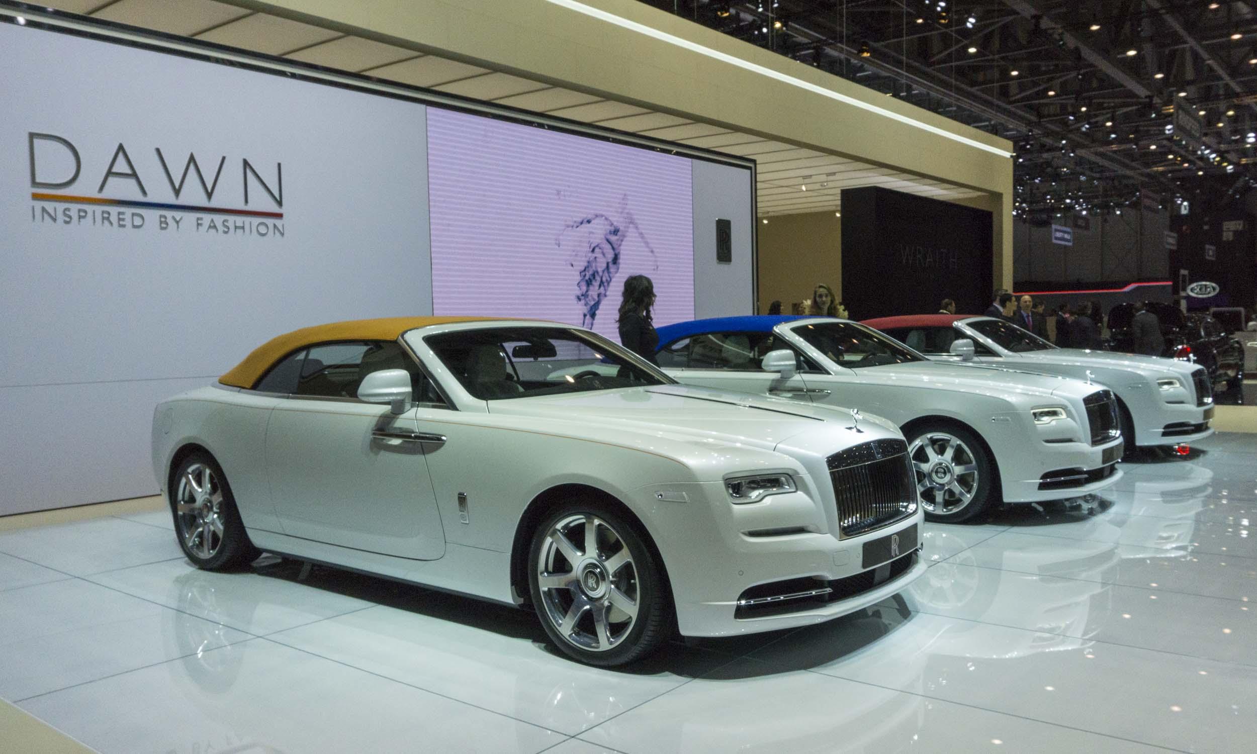 2017 Geneva Motor Show Luxury Cars