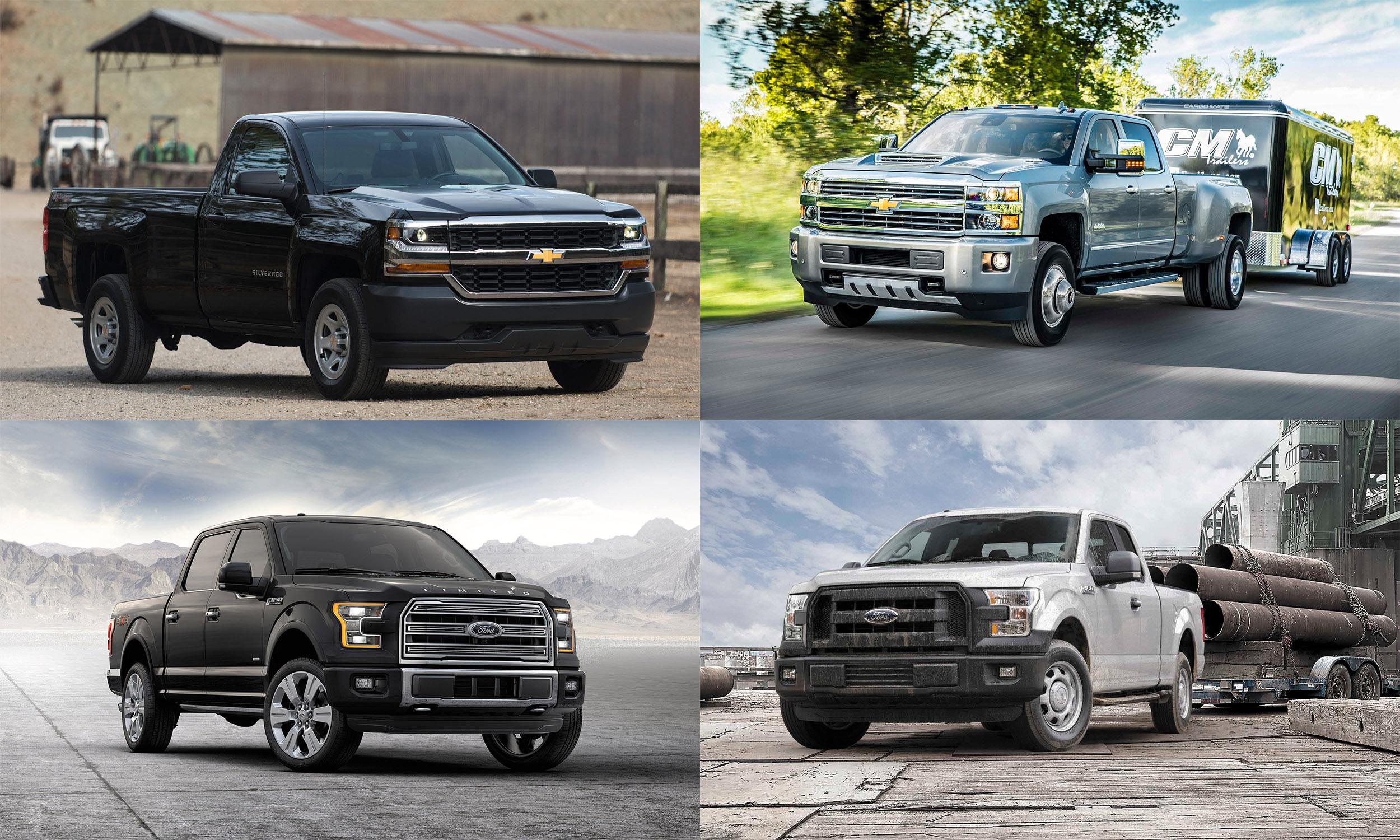 © General Motors, © Ford Motor Company