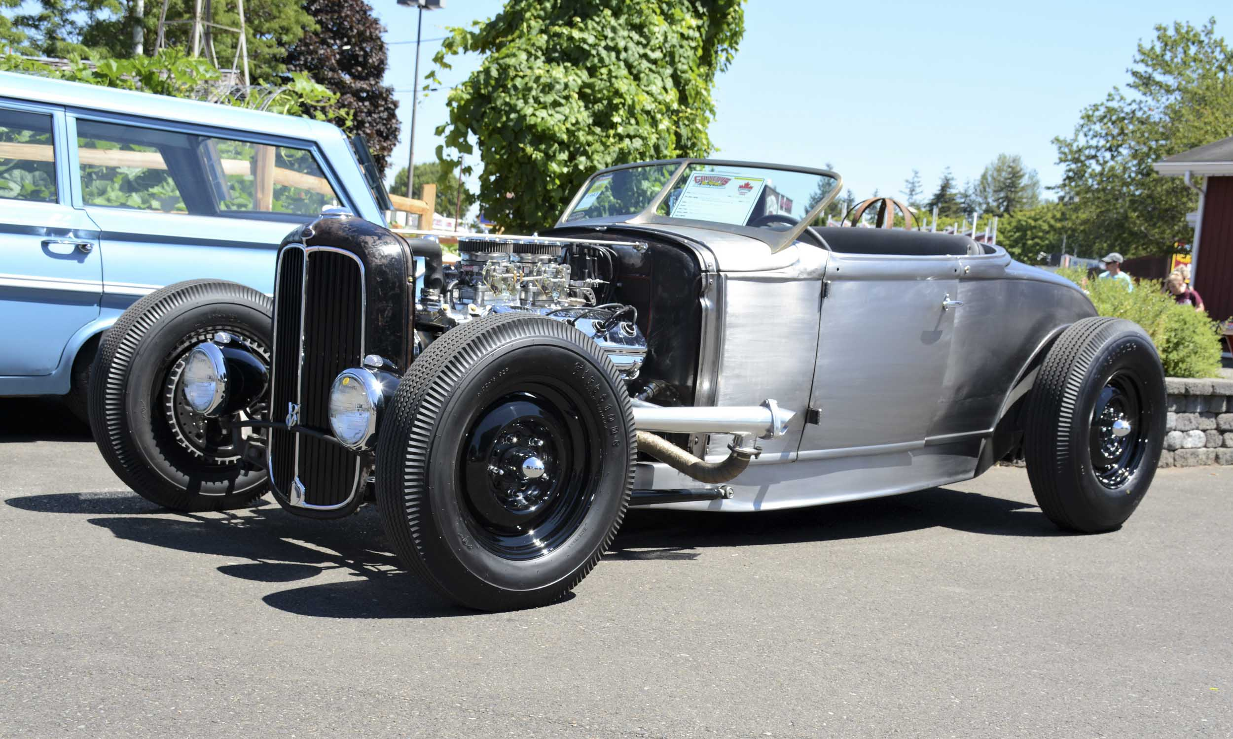 Hot Rods Shine At 30th Pacific Northwest Nationals Autonxt 1954 Chevy Chopped And Bagged Rat Rod Evan Griffey