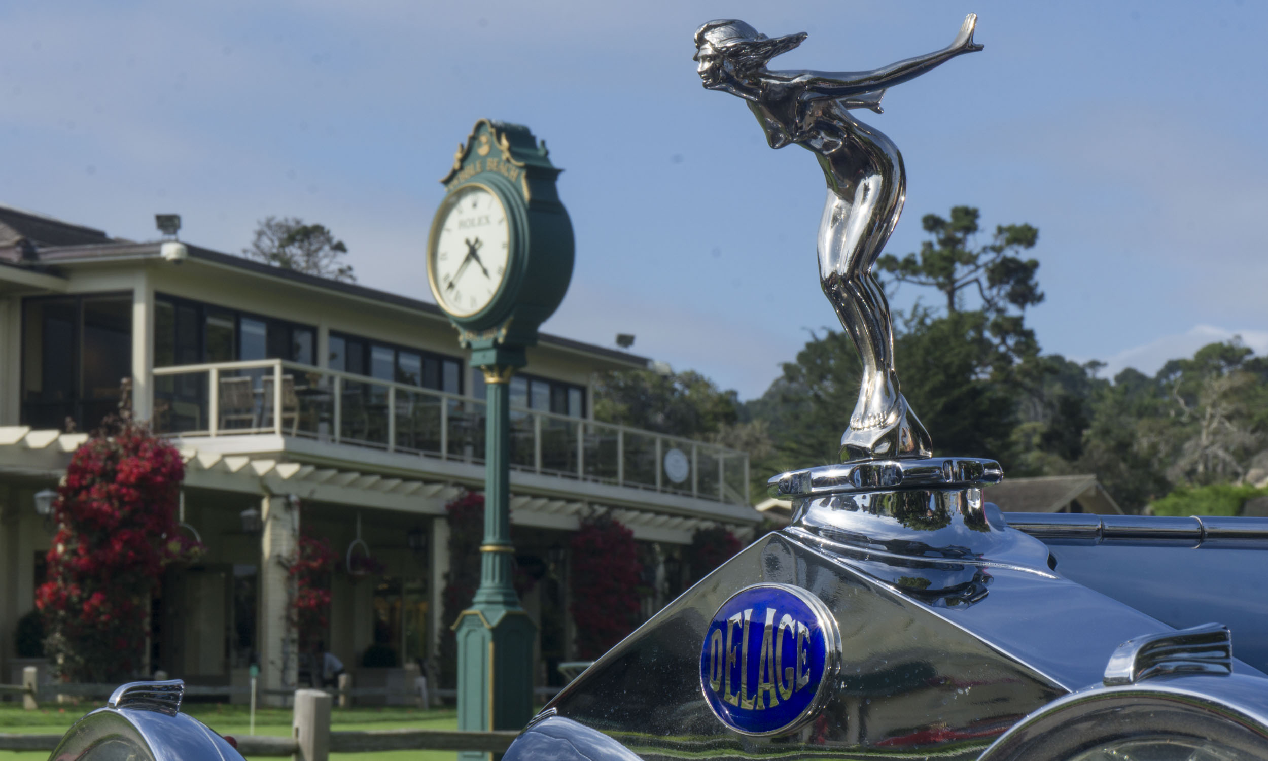 The Motoring Classic arrives at the 68th Annual Pebble Beach Concours d'Elegance Courtesy of AutoNXT