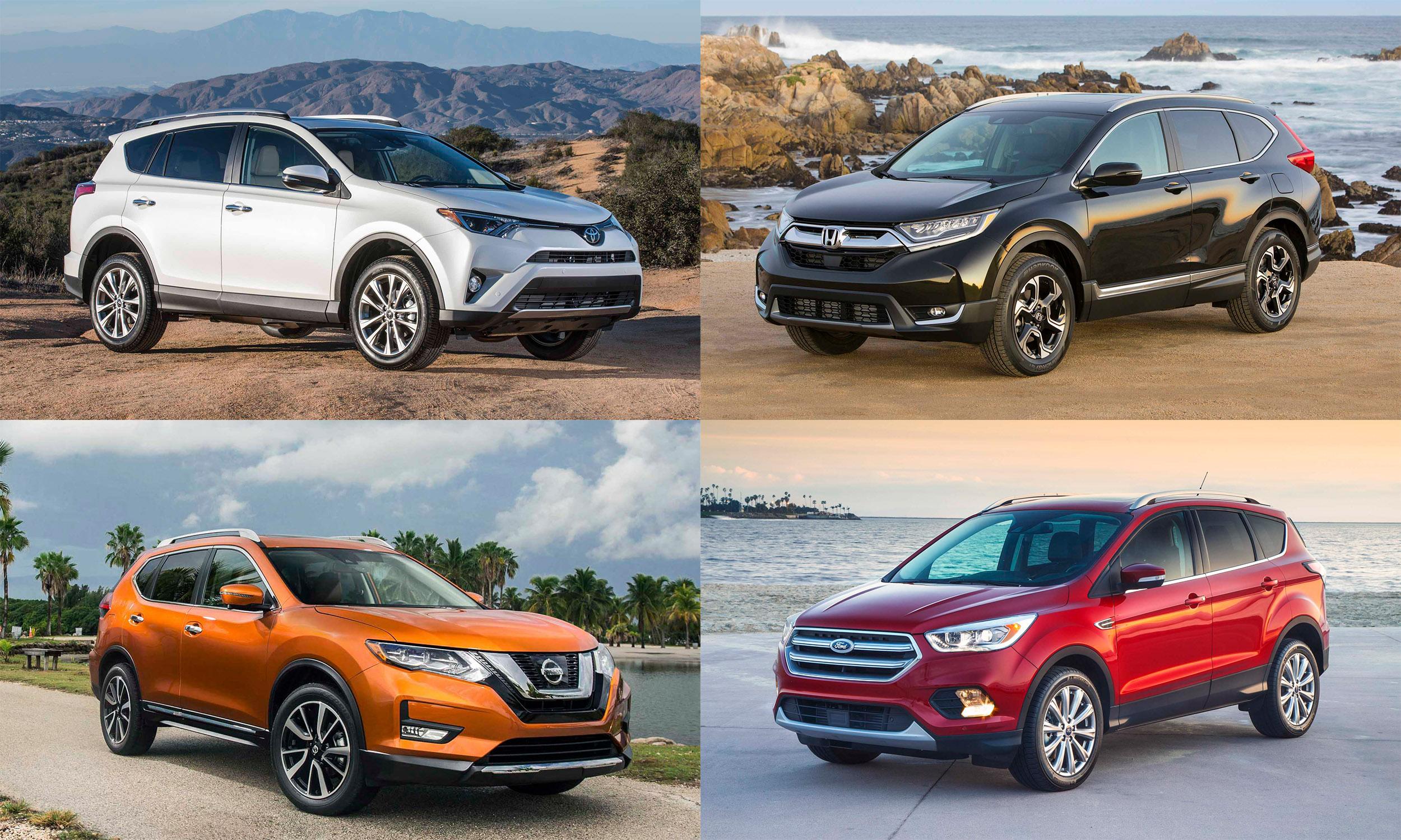 © Toyota Motor Sales, U.S.A., American Honda Motor Co., Ford Motor Company, Nissan North America