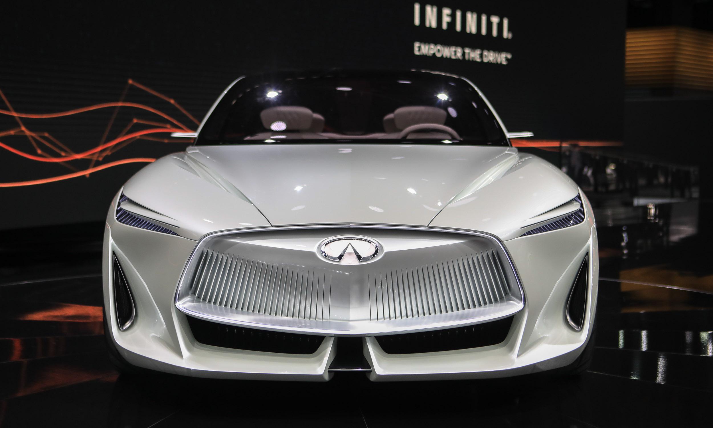 Detroit Auto Show Top Cars AutoNXT - Infiniti car show