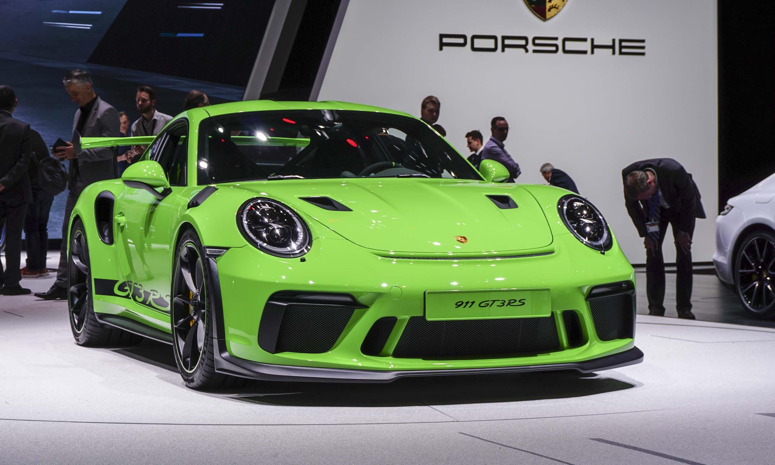 2018 Geneva Motor Show 2019 Porsche 911 Gt3 Rs