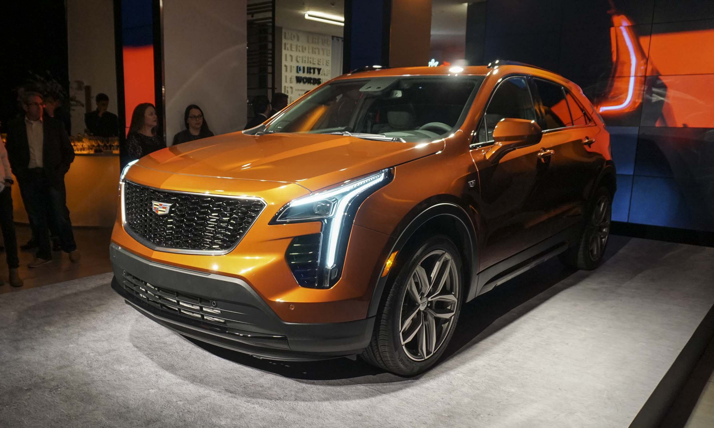 New York Auto Show Cadillac XT AutoNXT - Car show nyc 2018