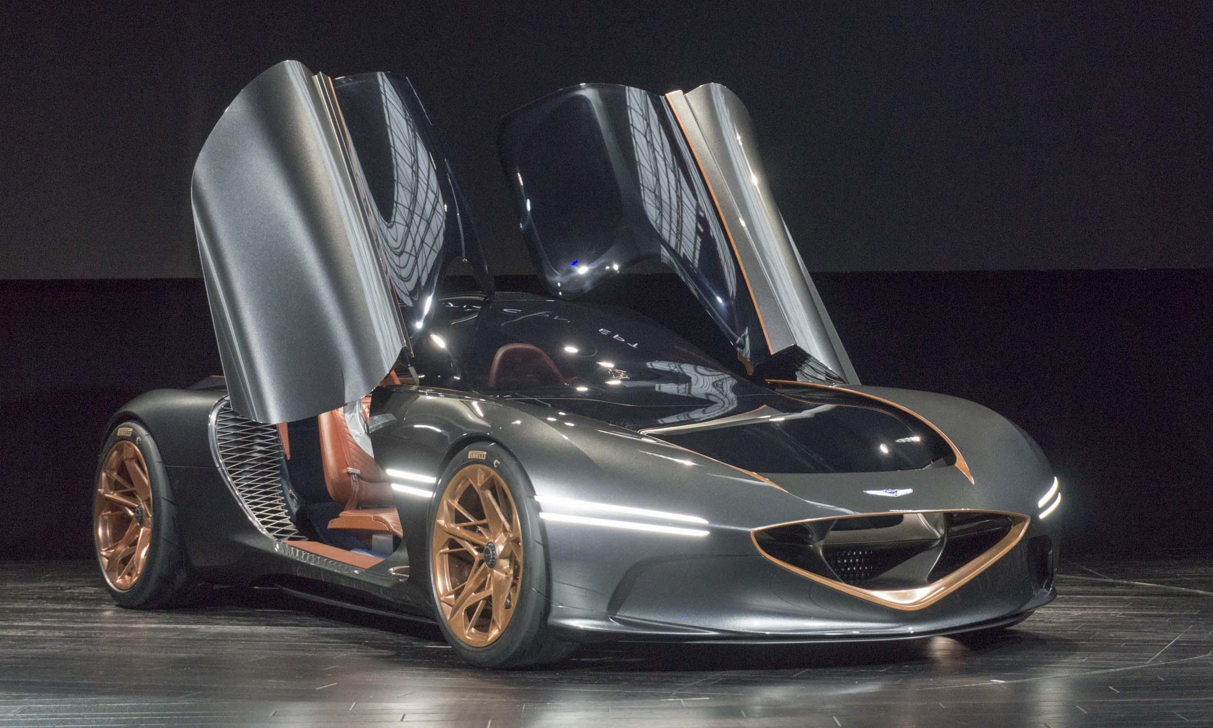 2018 New York Auto Show Genesis Essentia Concept