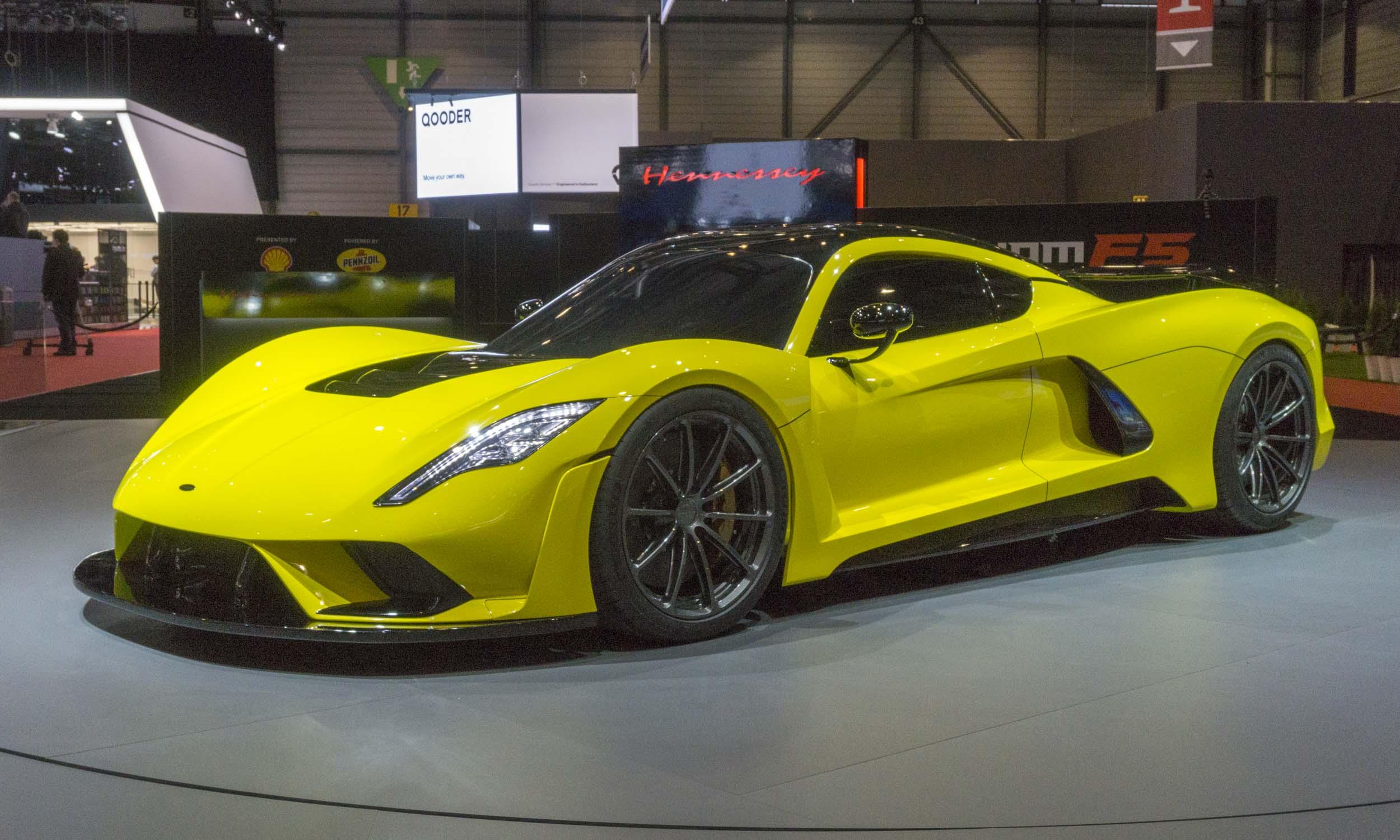 2018 Geneva Motor Show Hennessey Venom F5 Autonxt