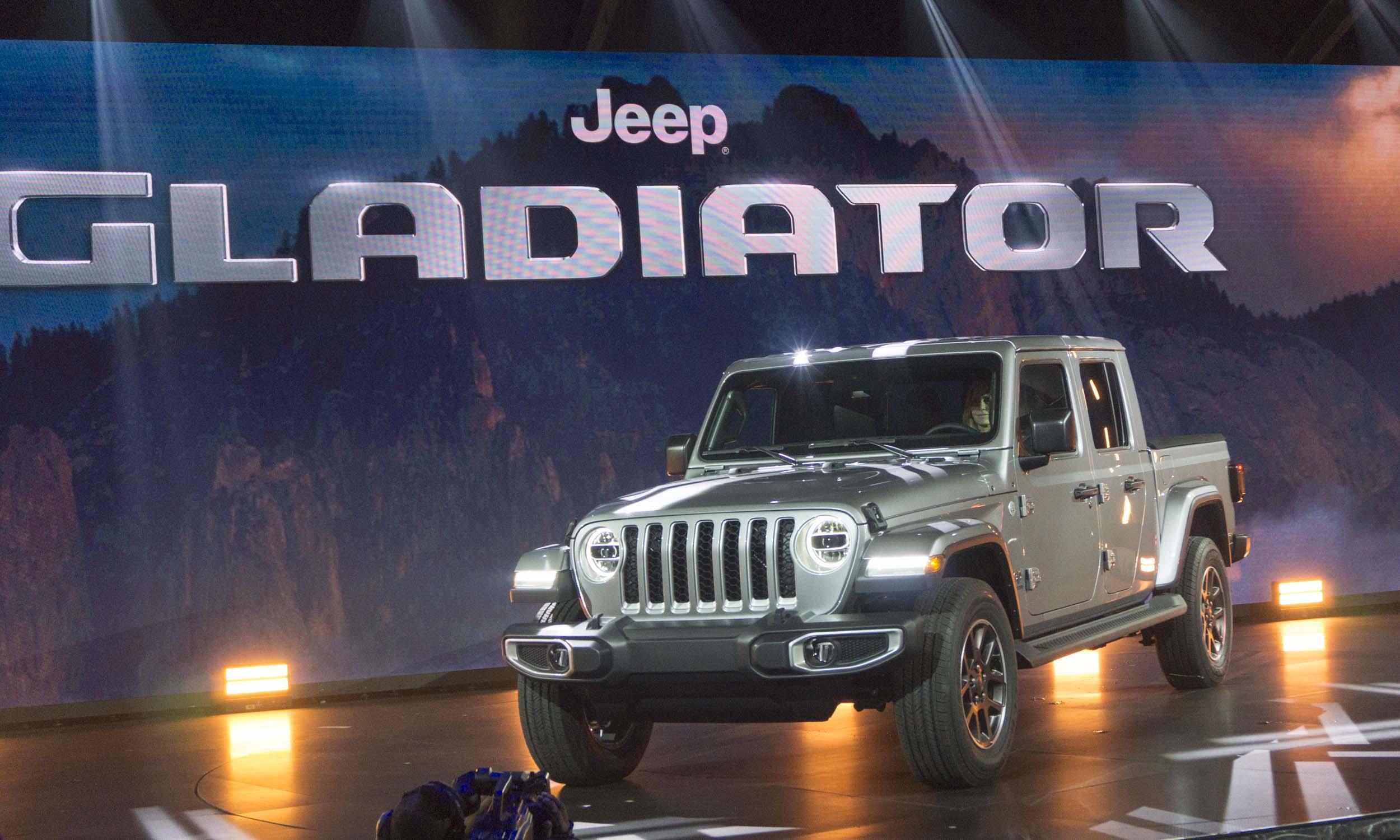 2018 L.A. Auto Show: 2020 Jeep Gladiator